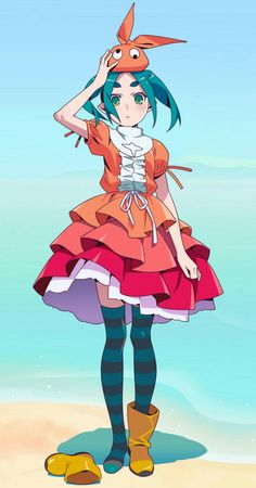 Ononoki Yotsugi from Monogatari Series. Anime Meme, Moe Anime, Kawaii Anime Girl, Anime Manga, Anime Art, Anime Titles, Anime Characters, Read Anime, Monogatari Series