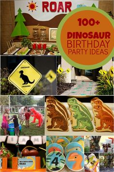 Creative Dinosaur Birthday Party Ideas