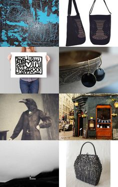 Série noire by Brigitte G on Etsy--Pinned with TreasuryPin.com
