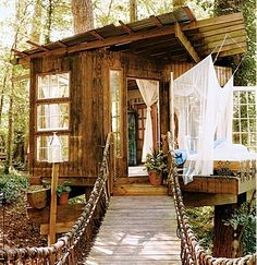 Charming treehouse  #treehouse #outdoor #romantic