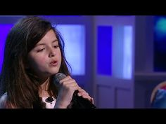 Tap photo for video. Angelina Jordan - Fly Me To The Moon - The View 2014 Angelina Jordan, Britain's Got Talent, Talent Show, Amy Winehouse, Sound Of Music, My Music, Billy Holiday, The Voice, X Factor