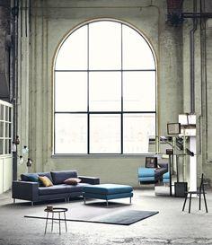 Marley modular sofa, CarryOn sidetable and Alf chair.