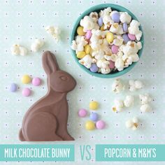 Healthy Swaps for Your Favorite Easter Treats: Instead of Chocolate Bunny, Try Popcorns & M&M's   CookingLight.com