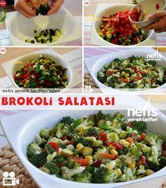 Videolu anlatım Brokoli Salatası Nasıl Yapılır Videosu 17.190 kişinin defterindeki bu tarifin videolu anlatımı ve deneyenlerin fotoğrafları burada. Yazar: Yasemin Atalar