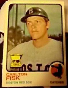 CARLTON FISK  - 1973 Topps