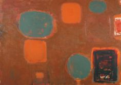 Brown Ground with Soft Red and Green: August 1958 - July 1959 Patrick Heron Tate Your Paintings, Landscape Paintings, Amazing Paintings, Landscapes, Patrick Heron, Post Painterly Abstraction, Art Informel, Abstract Painters, Abstract Art