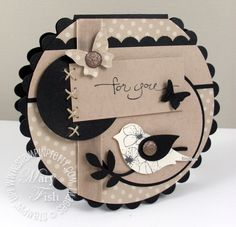 circle scallop card...full of special details...like how the small parts in black show up so well...
