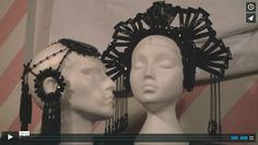 Learn how to make a beautiful Art Nouveau inspired headdress, (for Fashion/ couture/ catwalk)