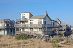 This will be our home for a week of fun in the sun! Obx Rentals, Vacation Rentals, Vacation Destinations, Fish Cleaning Table, Hatteras Realty, Outer Banks Rentals, Door Steps, Pent House, Nice View