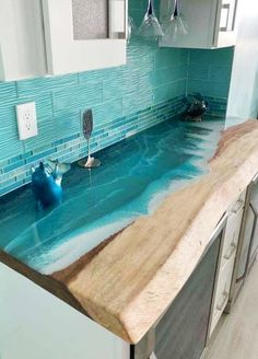 Blue Kitchen Design Ideas for Coastal Living