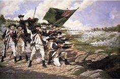 The Delaware Regiment And 1st Maryland At The Battle Of Long Island, 1776 - Domenick D'Andrea Photo by sursum1 | Photobucket