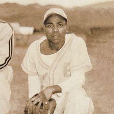 Samuel Hamilton de joven con su uniforme de béisbol