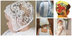 CÓMO HACER UNA CAPOTA PARA BEBÉS Y NIÑ@S Baby Sewing, Baby Hats, Cute Babies, Pregnancy, Ruffle Blouse, Wedding Dresses, Lace, Women, Search