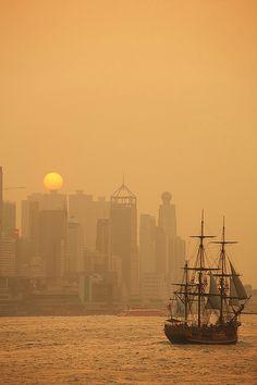 Tokyo Sunset: via Mike Catalonian