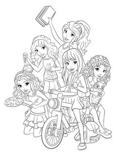 Brilliant Image of Lego Friends Coloring Pages . Lego Friends Coloring Pages Characters From Lego Friends Coloring Pages Free Printable Lego Coloring Pages, Coloring Pages For Girls, Printable Coloring Pages, Coloring For Kids, Coloring Books, Lego Friends Birthday, Lego Friends Party, Lego Birthday Party, 7th Birthday
