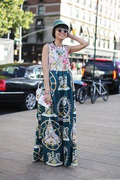 Неделя моды в Нью-Йорке: Streetstyle. Часть 2, Buro 24/7