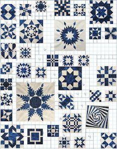 Blue & White Sampler - Progress so Far