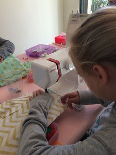 Teach your children to sew on the Janome Sew Mini