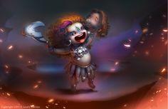 Goddess kali (Finished art) on Behance