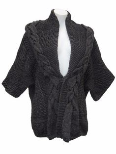 Кардиган кимоно спицами схема и описание. Как связать модный кардиган спицами   Я Хозяйка