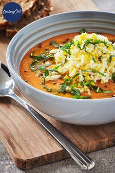 Soup Recipes, Vegan Recipes, Good Food, Yummy Food, Anti Inflammatory Recipes, Vegan Vegetarian, Brunch, Food And Drink, Cooking