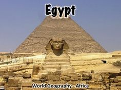 This 40 slide Egypt PowerPoint provides an overview of the history, geography, government, economy, and culture of Egypt.Includes:Overview/geography of Egypt - 10 slidesFlag - 1 slideHistory of Egypt - 10 slidesNotable Egyptians - 3 slidesGovernment of Egypt - 4 slidesEgypt's economy - 2 slidesEgypt's culture - 4 slidesMiscellaneous info- 4 slidesThis presentation can be used with a worksheet that can be found here: Egypt Worksheet.This presentation can also be used with the free…