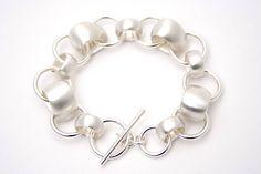 teardrop and small ring bracelet by tlk   notonthehighstreet.com