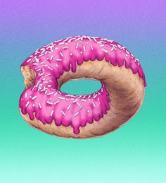 infinity donut by Ross Paxman - Wouldn't it be fun to make a real donut like this.