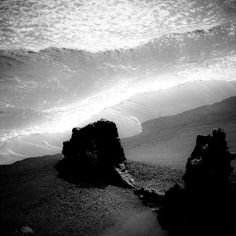 Iceland – Abstract Landscapes by Jan Waider, via Behance