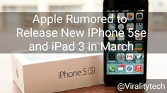"""While this is just rumored most apple rumors have been true in the past. 'Se' in the 'IphoneSe' likely stands for """"Special Edition"""". #tech #blog #news #techblog #latest #hot #hottest #trending #ios #ios9 #apple #gadgets #applewatch #smartphone #iphone #iphone5e #ipad3 #rumors #business #new #march #itunes #iphone6s #swift #awesome #cool #technology #fyi #newiphone #spring"""