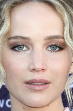 Close-up of Jennifer Lawrence at The Hollywood Reporter's 2017 Women in Entertainment Breakfast.