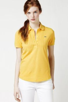 Different color though. Lacoste, Polo Shirt Design, Ralph Lauren, Polo Shirt Women, Camisa Polo, Summer Tops, Feminine Style, Sports Women, Pull