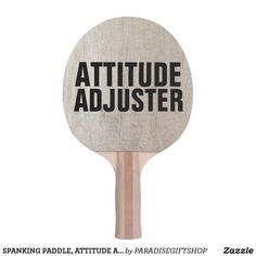 SPANKING PADDLE, ATTITUDE ADJUSTER PING PONG PADDLE Freaky Relationship Goals Videos, Ping Pong Paddles, Attitude, Playroom, Decals, Romance, Romance Film, Game Room Kids, Tags
