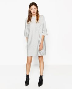 Image 1 of DRESS WITH POCKET from Zara