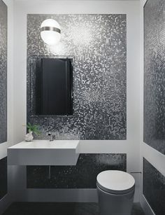 Penny tiles have a retro vibe, but they can be used in ways that minimize the look, such as on a shower floor or as kitchen backsplash tile. Best Bathroom Tiles, Small Bathroom Paint, Guest Bathrooms, Bathroom Ideas, Modern Bathrooms, Small Bathrooms, Bathroom Designs, Master Bathroom, Vanity Backsplash