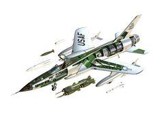 Thunderchief-Cutaway