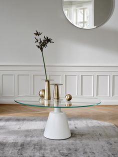 Madrid Glass Coffee Table | Minimalist Furniture Designs | BoConcept Sydney