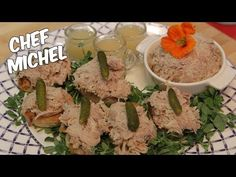 Rillettes de poulet - YouTube Future Videos, Make It Yourself, Ethnic Recipes, Chicken, Youtube, Recipes, Salmon, Hair, Feathers