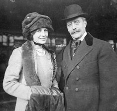 The REAL Mr. Selfridge -  Harry Selfridge and his daughter Rosalie, named after her mother