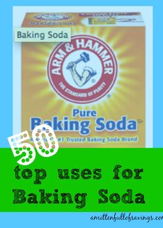 """Baking Soda is just not for baking or using it to clean your teeth! There are so many more ways to """"skin this cat""""..... Read now (or pin for later) more than 50 Uses for Baking Soda {frugal tip}"""