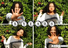 Alice of Alice in Nappyland #naturalhair anniversary