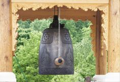 Among the many highlights at Meadowlark Botanical Gardens is the handcrafted Korean Bell of Peace and Harmony. The bell was created in South Korea with many traditional Korean images of nature, such as birds, plants and animals, as well as images symbolic of Virginia. - [FairfaxTimes, 7/20/12]