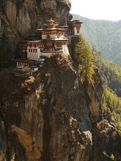 The Tiger's Nest. Not nearly as arduous a climb as we were told!