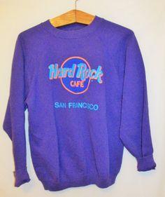 Vintage 1990's Hard Rock Cafe San Francisco Sweatshirt by FreshtoDeathVintage