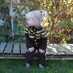 Melker's Kindergarten Jumpsuit by Anna & Heidi Pickles - Size 1-2 y for free. The rest can be bought