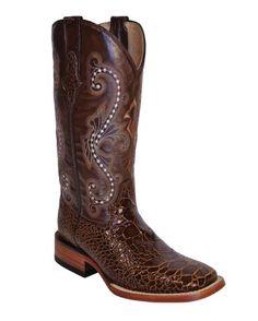 Ferrini Women's Print Seaturtle S-Toe Boot - Brandy $272 Product URL : http://www.mensusa.com/products.aspx?id=14549