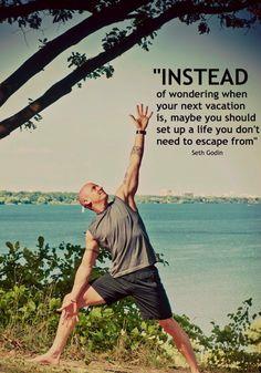 amazing thought ... Seth Godin