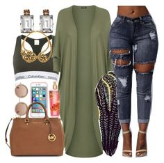 """Chilling Out N' The Football Field"" by missk2blue ❤ liked on Polyvore featuring The Row, ETUÍ, Janis Savitt, Calvin Klein, Erickson Beamon, Michael Kors and WearAll"