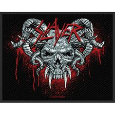 Slayer Woven Patch = $5.99