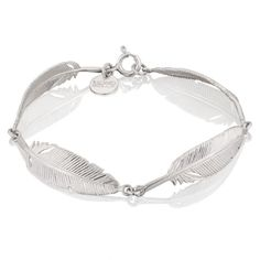 Srebrna bransoletka z piórkami Feather, Bracelets, Silver, Jewelry, Quill, Jewlery, Jewerly, Schmuck, Jewels